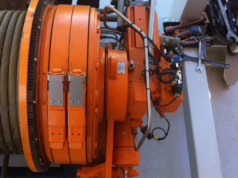 Winch offshore